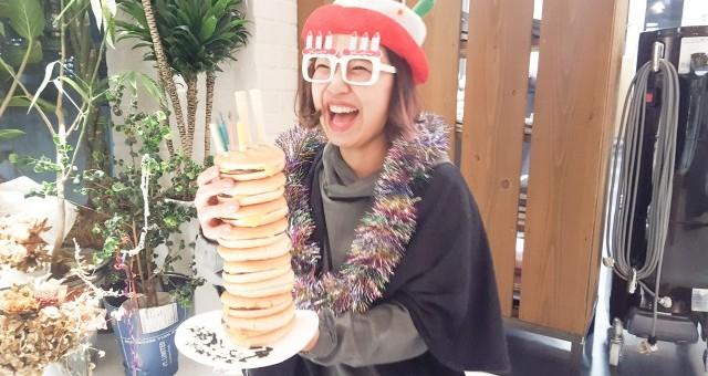 ハンバーガーケーキ♪