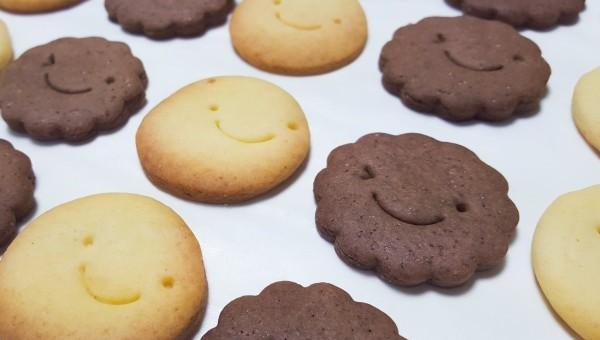 にこちゃんクッキー♪