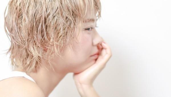 ショート × ハイトーンカラーの撮影しました✂︎ [渡辺仁史]