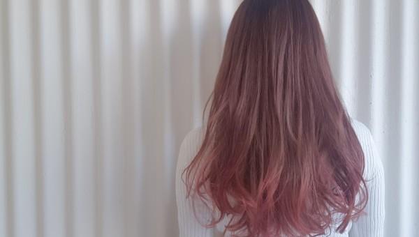 可愛いピンクグラデーション♪