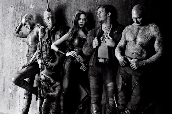Guardians of the Galaxy Vol.2 (2017) Promotional Poster Kay Art with Zoe Saldana, Chris Pratt, Michael Rooker, Karen Gillan & Dave Bautista